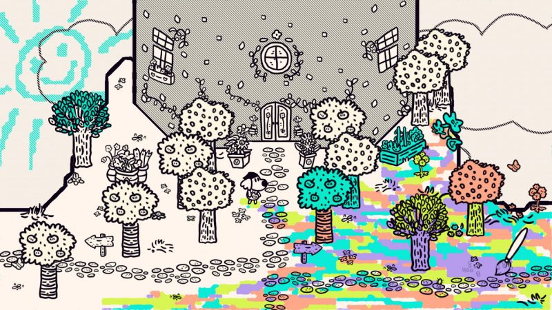 Đánh giá game Chicory: A Colorful Tale