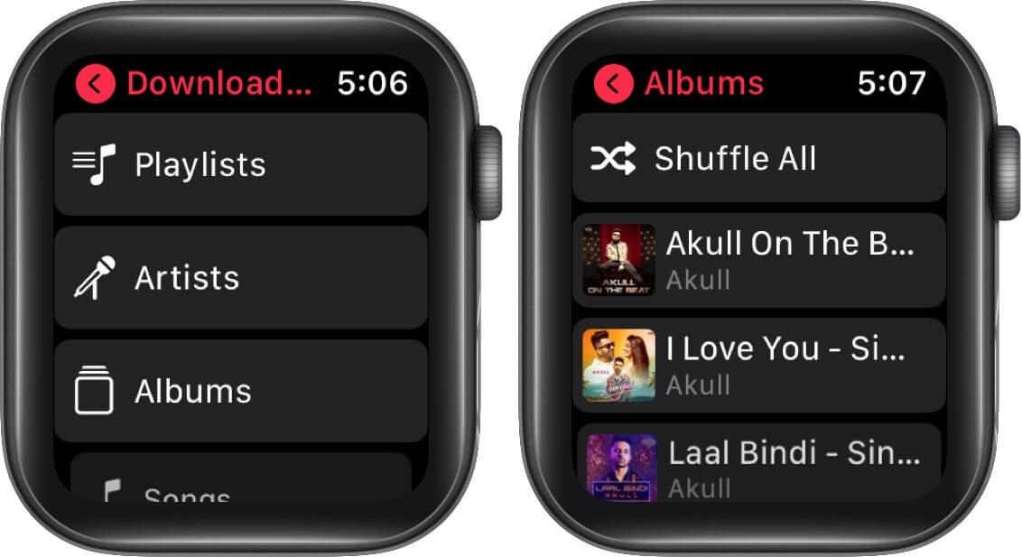 Xoá nhạc trên Apple Watch