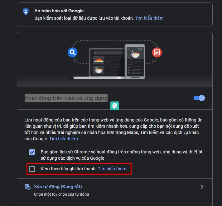 Cách xoá dữ liệu được lưu trong Google Assistant