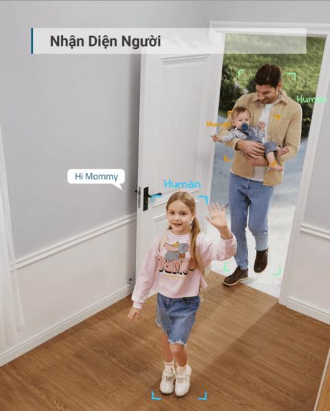 Deal sốc Camera xoay 360 độ Eufy Indoor 2K Pan & Tilt bảo vệ gia đình bạn 24/24