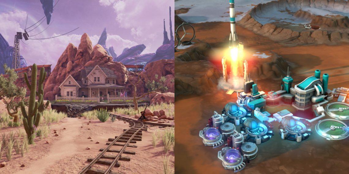 Đang miễn phí 2 game Obduction và Offworld Trading Company