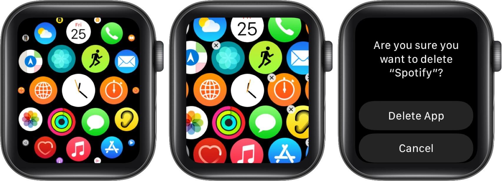 Cách giải phóng dung lượng trên Apple Watch