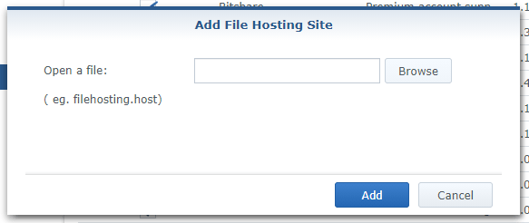 Synology Fshare Download Station