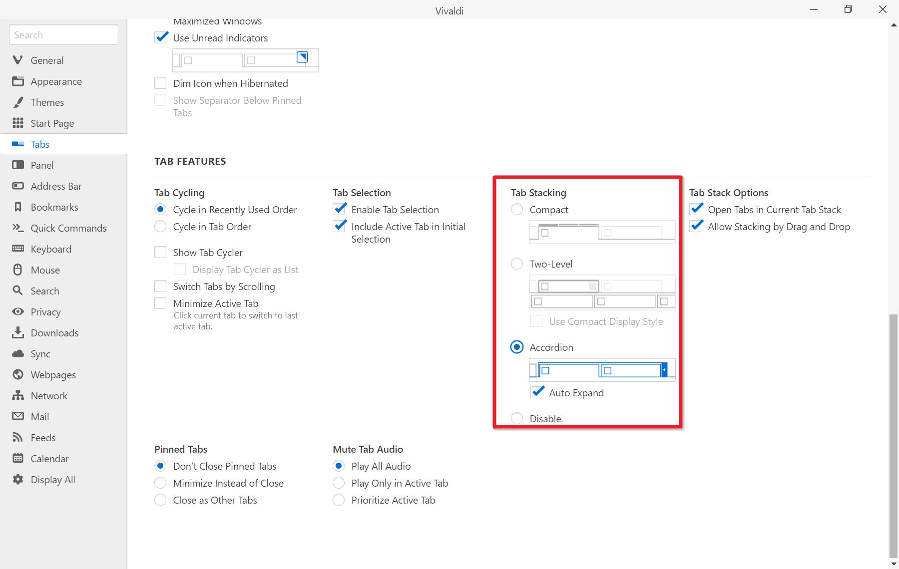 Vivaldi Browser 4.1 có gì mới?