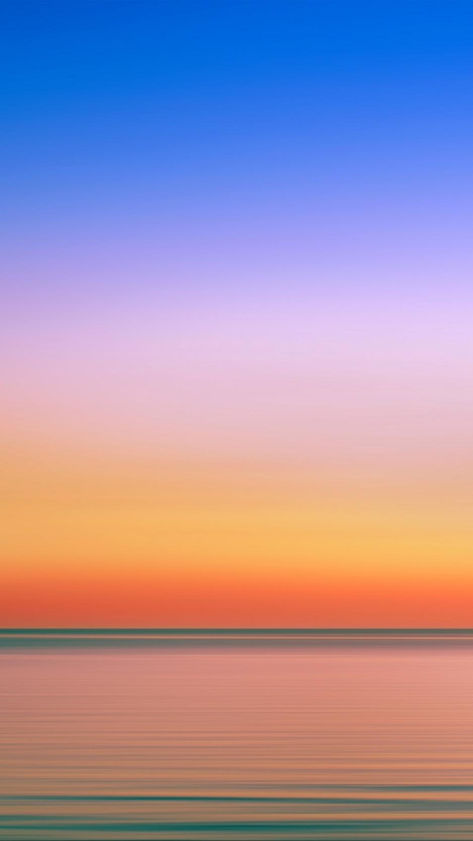 Bộ ảnh nền minimalist chủ đề bình minh đẹp cho iPhone