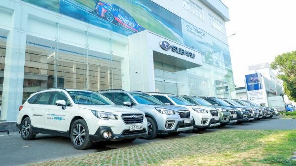 Subaru hỗ trợ 100% lệ phí trước bạ cùng các ưu đãi hấp dẫn