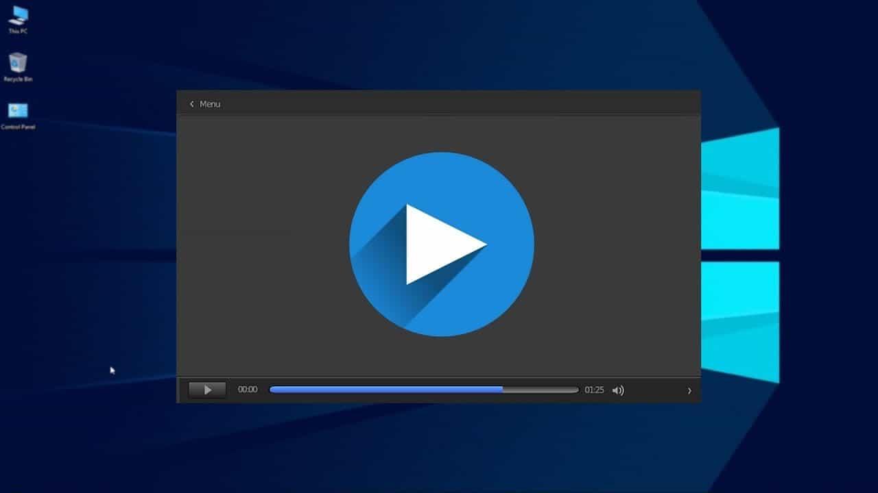Phát nhạc, video trên máy tính bằng Web Video Player