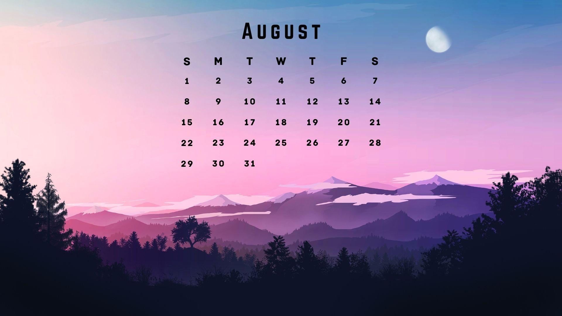 Ảnh nền tháng 8/2021