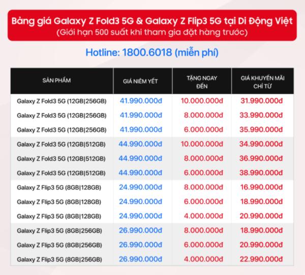 Tặng đến 10 triệu đồng khi đặt hàng Galaxy Z Fold3|Z Flip3