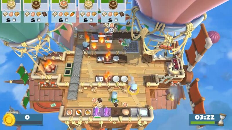 Đánh giá game Overcooked! All You Can Eat