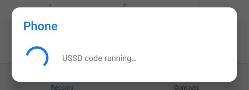 USSD code