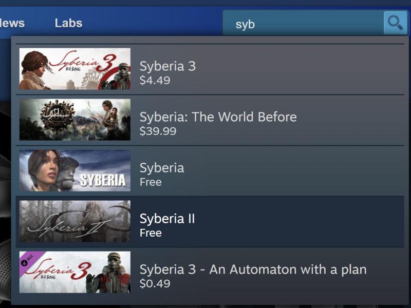 Đang miễn phí game Syberia II chỉ 48 tiếng