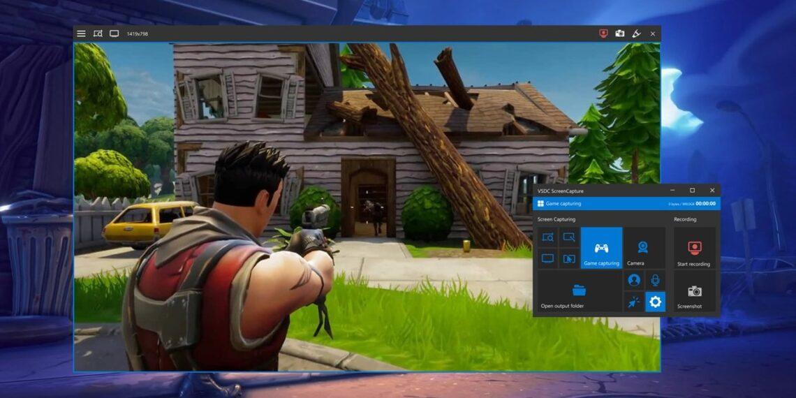 VSDC Free Screen Recorder: Quay, chụp ảnh màn hình desktop, webcam, chơi game