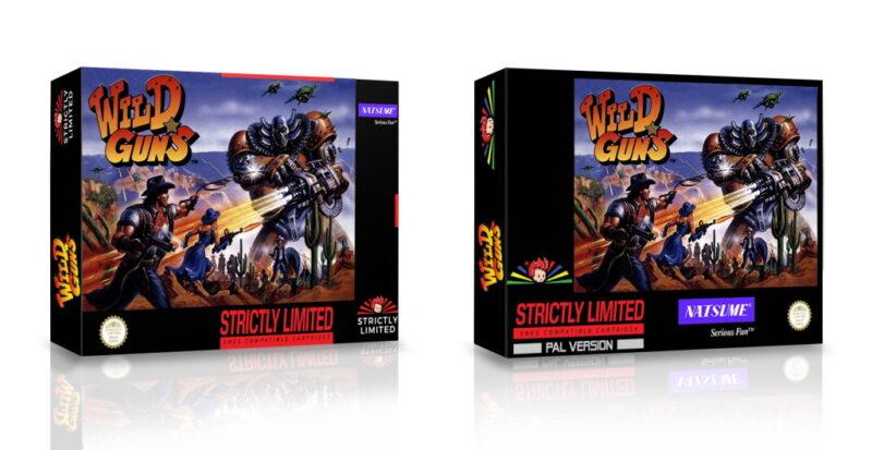 Wild Guns Reloaded phát hành bản box cho Switch và PS4